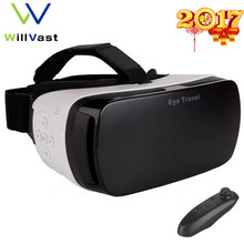 """WV VR Space Eye Travel Glasses for Android iPhone 4.7-5.5"""" Better for Gear VR Box Headset for Samsung Note Galaxy S6 S Edge"""