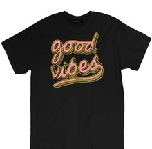 8b862d5b3 Misky & Stone Good Vibes Pink And Yellow Positive Vibes Good Energy T Shirt