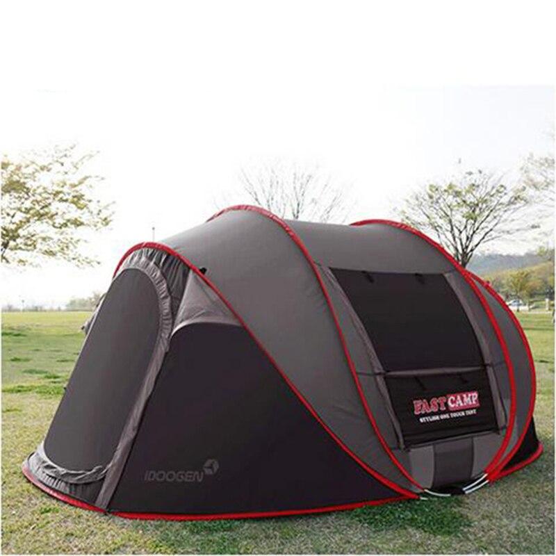 Ultralarge Automatique 3-4 Personne Utiliser Pop Up Tente de Camping Plage Tente Famille Jouant Gazebo