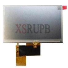 100% original 5 Pulgadas AT050TN33 V1 V.1 32000579-02 LCD con la pantalla táctil para GPS Envío Gratis
