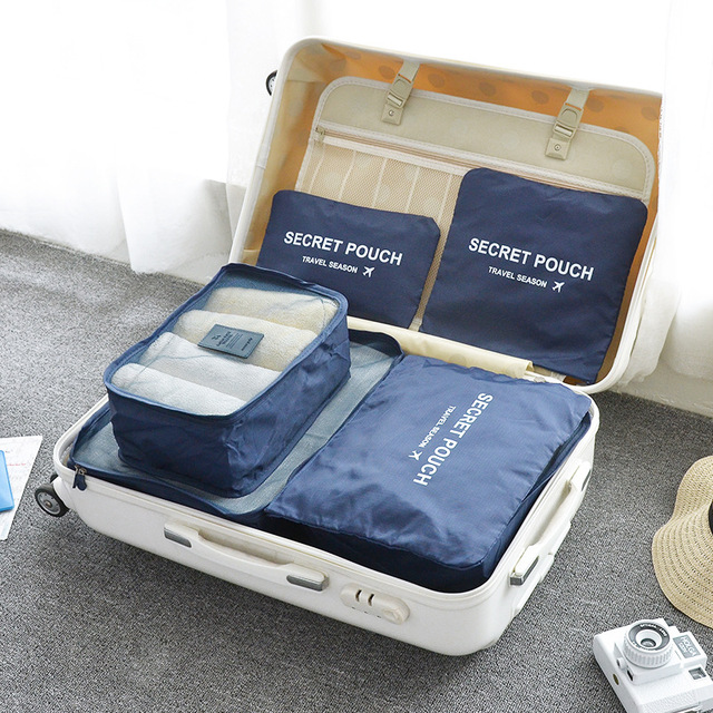a17990084a8d US $9.72 19% OFF|6Pcs/Set Women Storage Bag For Bra Underwear Socks Secret  Pouch Travel Luggage Storage Organizer Bags Container For Shoes-in Storage  ...
