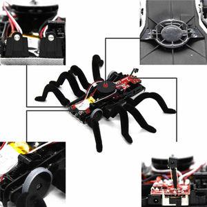 Image 3 - ウォールクライミングクモリモートコントロールのおもちゃ赤外線 RC タランチュラキッドギフト玩具シミュレーション毛皮のような電子クモのためのおもちゃ