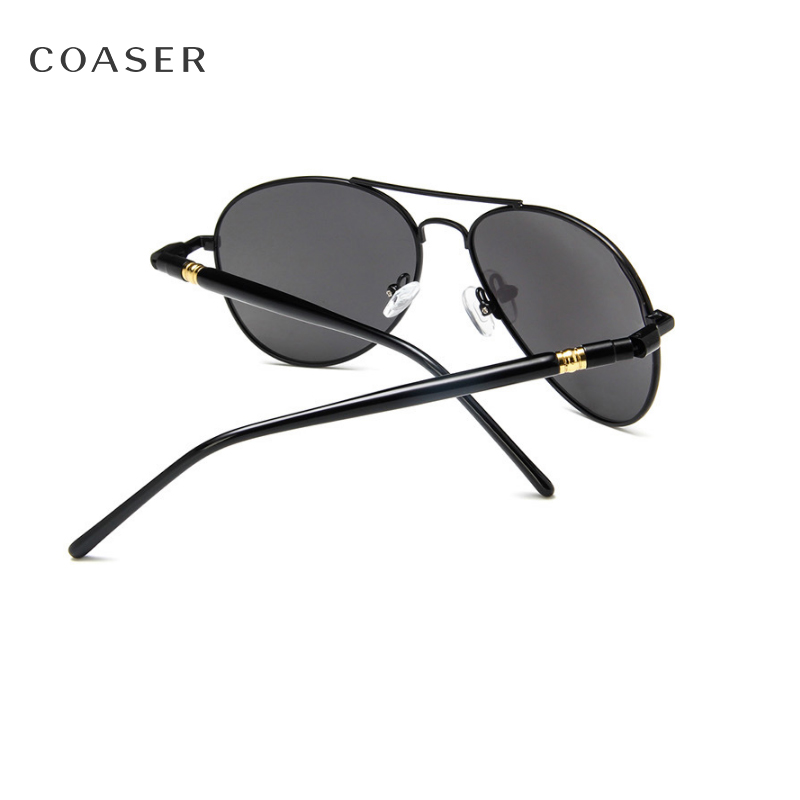 28c1ecd5e8 COASER Brand Men s Men Polarized Sunglasses Driving Sunglasses Alloy Frame  Aviation Oculos De Sol Masculino Sun Glasses A209-in Sunglasses from Men s  ...