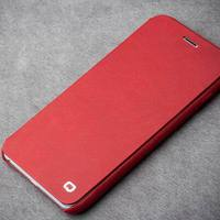 2015 QIALINO New Style High Quality Flip Cover For IPhone 6 6s Ultra Slim Real Leather