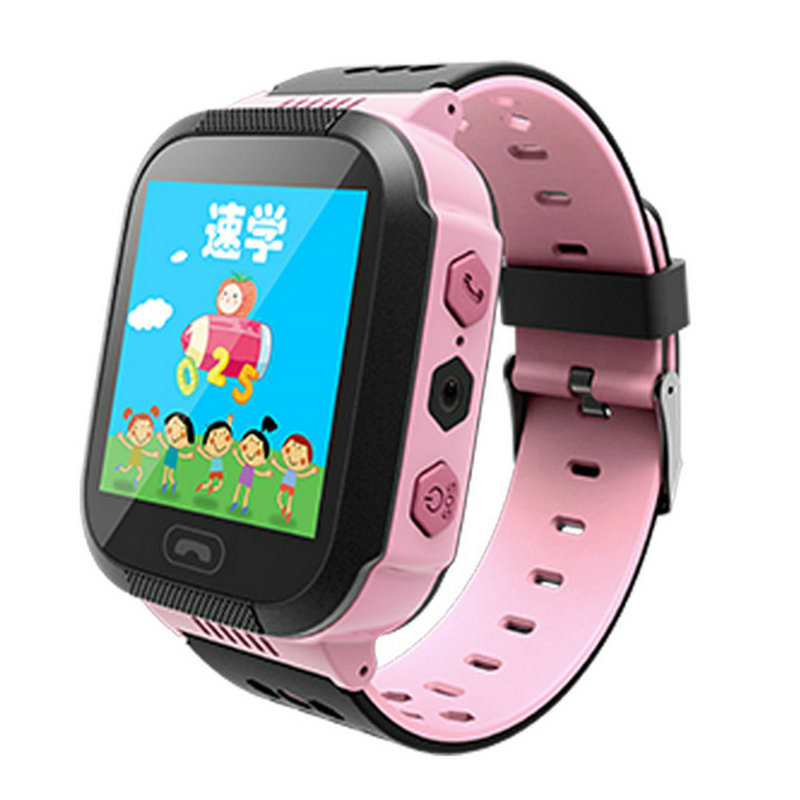 ФОТО Touch screen smart card alarm flashlight calls children's sports history and positioning of electronic watches