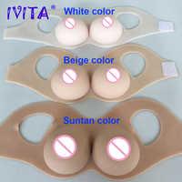 IVITA Realisitc formas de pecho de silicona pechos falsos para travestidor transgénero potenciador Drag-Queen Shemale Cosplay