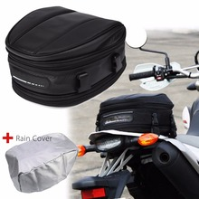 Treyues Motorcycle Accessories & Parts Rear Tail Back Seat Saddle Helmet Pack Shoulder Carry Bag Waterproof back seat bag shoulder bag waterproof universal carry bag saddle bag package helmet bag motorcycle rear tail seat bag