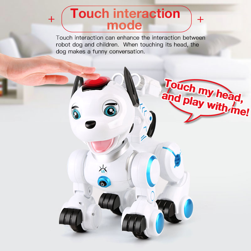 2.4G Wireless Remote Control Smart Dog Electronic Pet Educational Children's Toy Dancing Robot Dog without box birthday gift 2 4g wireless remote control smart dog electronic pet educational children s toy dancing robot dog without box birthday gift