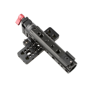 CAMVATE Top Plate Handle Grip for BlackMagic Camera BMCC Cinema Camera Handle For 15mm Rod System DSLR Cage Kit C1097