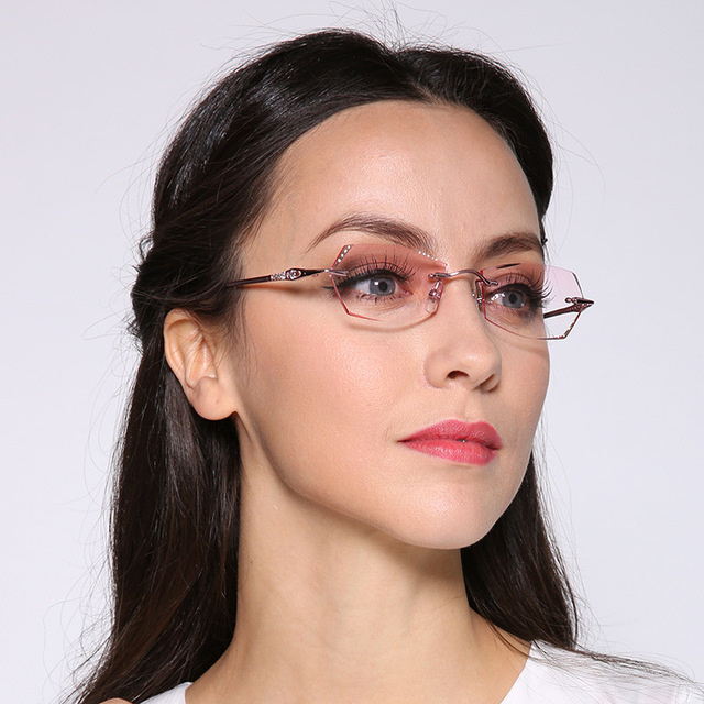 Новинка корея очки титан женщины близорукость оправы