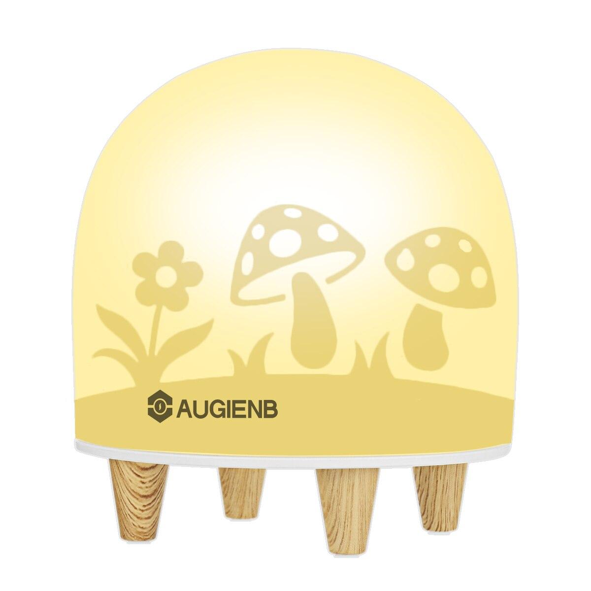Augienleb Night Light Portable Silicone Eye Caring Nursery