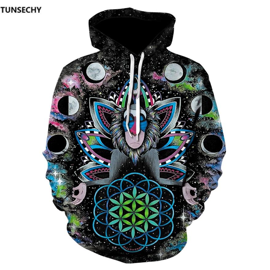 TUNSECHY 3D Hoodies Brand Hoodies Men Sweatshirts Game Hooded Tracksuits Fashion Pullover Fashion Thin Brand Free transportation