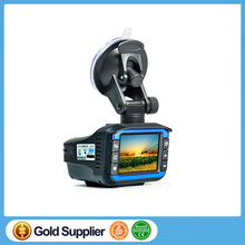Three in one Car DVR Car detector Dash Camera vehicle black box Radar Detector Dash cam auto camera Support Russian Language