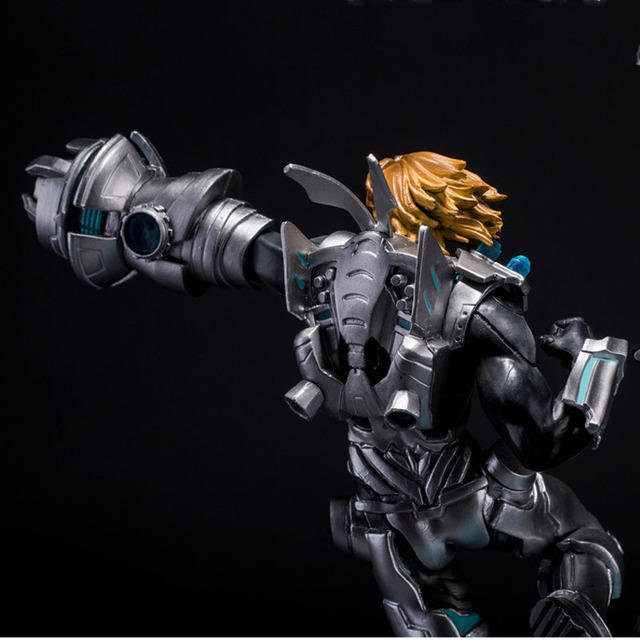 LOL League of Legends Figure Action Game Future Soldiers Izearil Big EZ Character Model Toy action-figure 3D Game Creative Gift  3