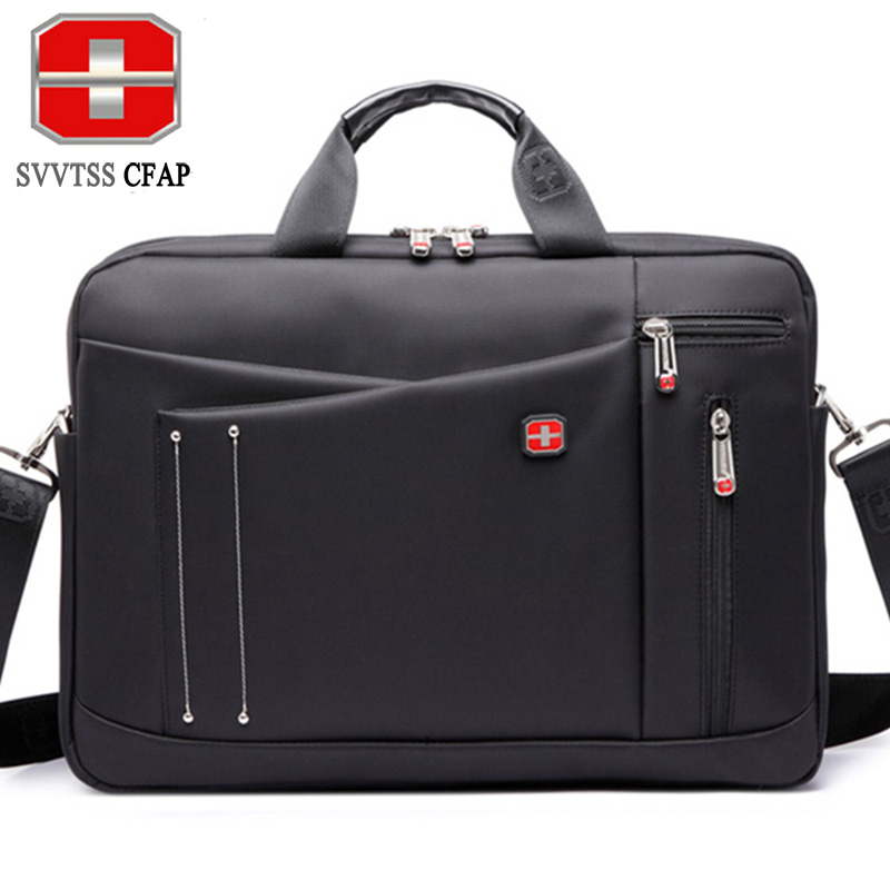 SVVTSSCFAP Business men bag luxury handbags women bags designer nylon men shoulder briefcase messenger bag women