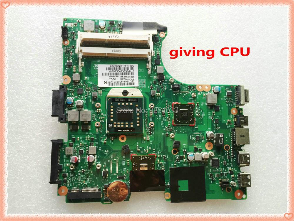 for HP 625 325 425 Notebook Compaq 325 Notebook 611803-001 LAPTOP MOTHERBOARD RS880 DDR3 Socket S1 free cpu original 615279 001 pavilion dv6 dv6 3000 laptop notebook pc motherboard systemboard for hp compaq 100% tested working perfect