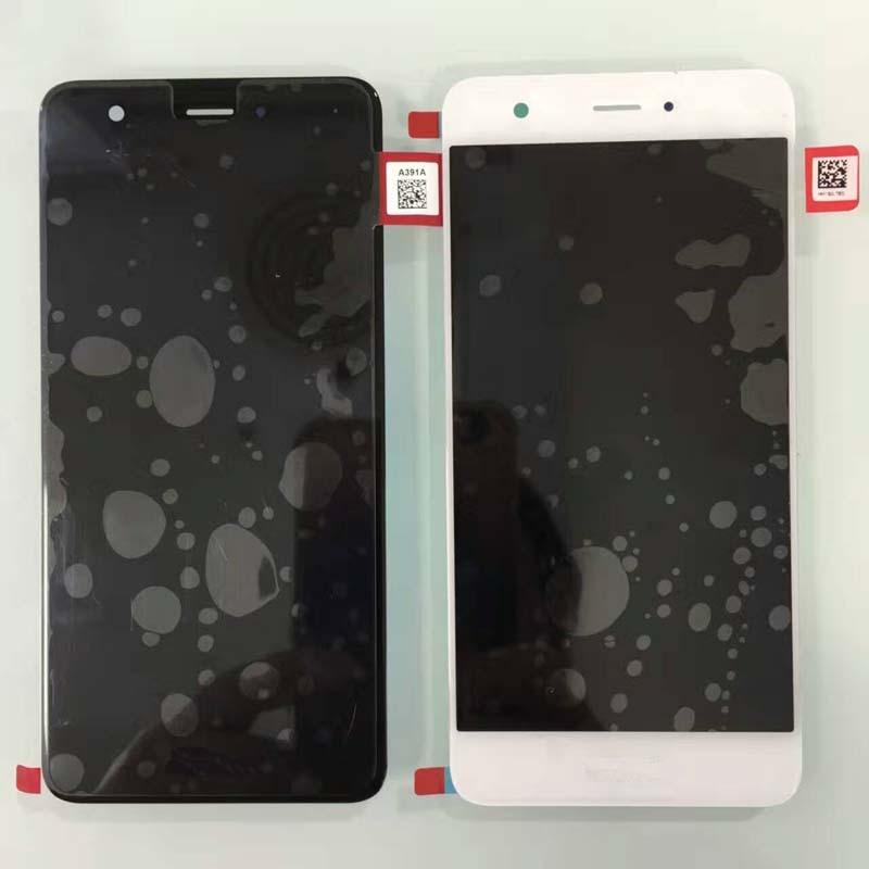 imágenes para 5.0 ''Pantalla LCD Full + Pantalla Táctil Digitalizador Asamblea Para Huawei Nova CAZ-AL10 CAN-L01/L11/L02/L12/L03/L13; negro