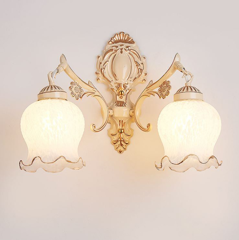 R3 Rare Antique Art Deco Slip Shade Etched Frosted Sconce Chandelier.