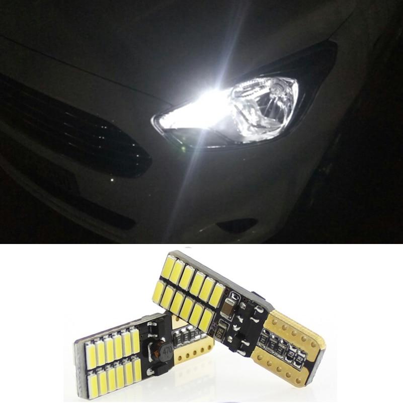 2x Canbus LED T10 W5W Voiture Parking Lumière Feux de Gabarit pour Daewoo Nexia Matiz Lanos Lacetti Nubira Gentra Leganza Tico Espero