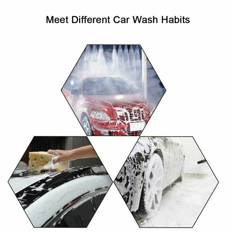 1PCS=5-10L Household car foam cleaner concentrated car wash essence genuine car wash fine wash one bag at a time toilet cleaner