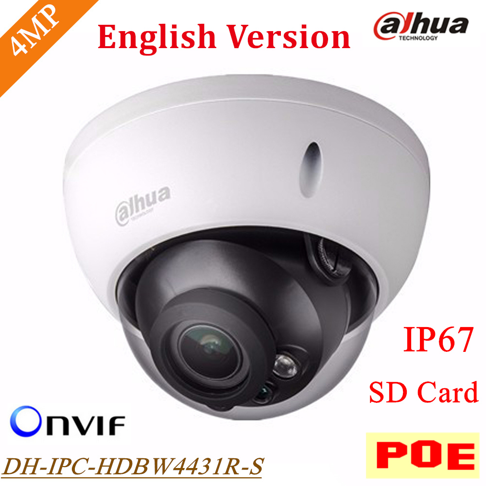New English Version Dahua DH IPC HDBW4431R S font b IP b font font b Camera