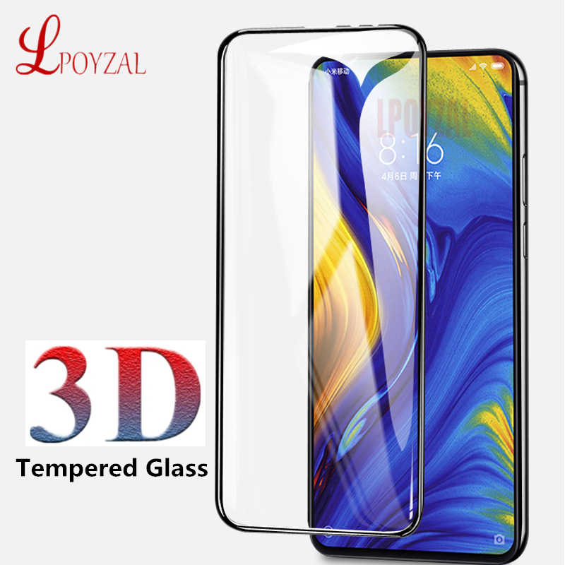 LPOYZAL 3D Tempered Glass For Xiaomi Mix 2 Mix 2S Mix 3 9H Screen Protector For xiaomi mi A1 A2 Lite Max 2 Max 3 Protective film