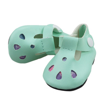 18-inch Doll Shoes-My Little Baby Accessories Fit 18/Life/Generation/Alive/Reborn Bebe Doll-toy Sandal for Girls
