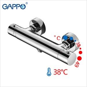 Image 2 - GAPPO Bidets thermostatische hygiënische douche bidet chrome moslim douche bidet mixer anale reiniging bidet wc kraan