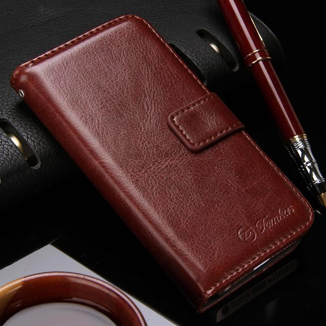 Wallet Leather Case for Apple iPhone 5S 5 2