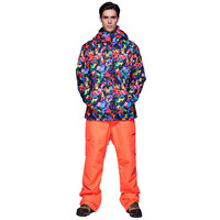 High Experience зима лыжный костюм Для мужчин Спорт Костюмы сноуборд куртка Для мужчин зимние Костюмы мотоцикл гонки костюм Mountain Лыжный спорт комп
