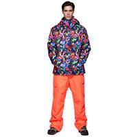 High Experience Winter Ski Suit Men Sport Suits Snowboard Jacket Men Snow Clothing Motorcycle Race Suit