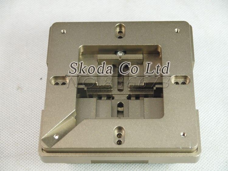 Livraison gratuite nouveau multifonction haute précision en alliage d'aluminium 80/90mm BGA Reballing Station BGA Reballing Kit avec aimant à l'intérieur