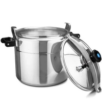 Commercial Thicken 80 3 Litre Pressure Cooker Explosion Proof Canteen Large Capacity Aluminum Pressure Cooker Stew
