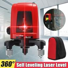 AK435 мини портативный 3D наливной красный лазерный нивелир устройство 360 дальномер для лазерной линии измерения как строительные инструменты