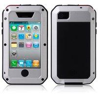 Doskonała ochrona silikon uniwersalny telefon case Dla Apple iphone 4 silikon PC Pokrywa Dla iphone 4S i4 Powłoki
