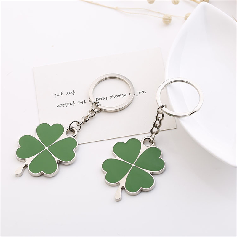 Four Leaf Clover keychain (3)