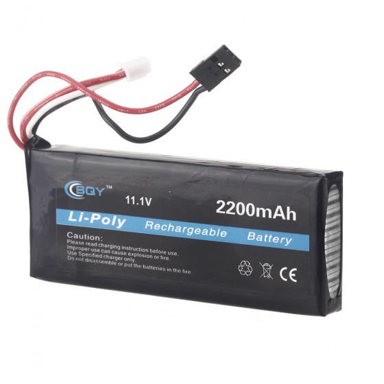 1pcs 2200mah 11.1V 10c lipo battery for RC Futaba 3PK Transmitter TX scout nano exclusive