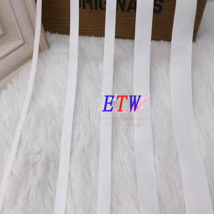 4mm-25mm Yumuşak olabilir yapışkanlı cilt spandex bebek elastik bant siyah ve beyaz toptan ve perakende