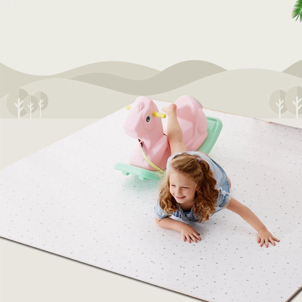 MrY 12 pièces/ensemble bébé EVA mousse jeu Puzzle tapis entrelacé exercice gypsophile tapis de sol tapis pour enfant jouets tapis chaque 50*50 cm