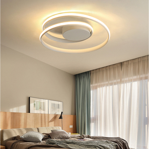 Image 2 - AC85 265V Plafond Verlichting LED Lamp Voor Woonkamer Slaapkamer Studeerkamer Thuis Modern Wit of Zwart opbouw Plafond Lamp
