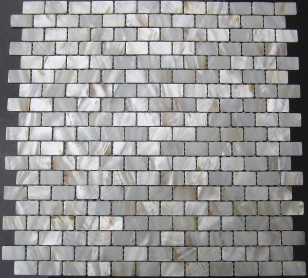 15x25mm U Bahn Muster Creme Perlmutt Muschel Mosaik Fliesen Für Bad Wand  Dusche Küche Backsplash