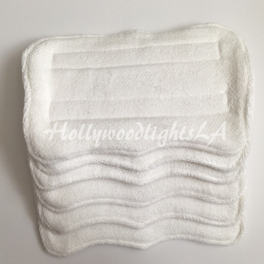 6 Replacement Microfiber Pads Compatible With Shark Steam