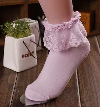 יפן גרבי תחרה אביב ילדה מורי יער חמוד Kawaii גרביים קצרים כותנה פרחונית תחרה טוניקת ביגוד מורי לוליטה סגנון הסטודנטיאלי