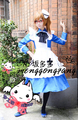 Hot Anime APH Axis Powers Hetalia Hetalia England Rose Lolita Party Cosplay Maid Dress Skirt Free Shipping NEW