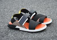 Size 37 46 Luxury Genuine Leather Summer Shoes Men Sandals Fashion Male Sandalias Beach Shoes Breathable Men Style slippers