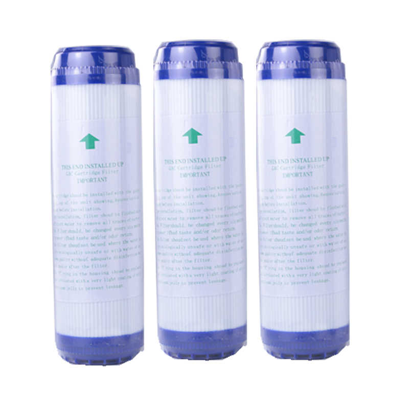 GAC Quick Connection Integrated Descaling Filter Water Purifier Compressed Carbon Filter Integrated Descaling Filter