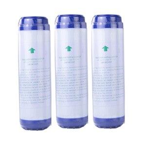 Image 1 - Filtro de água ativado gac para substituição, 3 peças, 10 polegadas, bloco de carbono ativado, purificador de substituição, cartucho de água, purificador de água, substituição udf