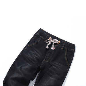 Image 5 - 2018 jesień nowe męskie Plus Size dżinsy moda Casual Hip Hop luźny dżins dżinsy czarne niebieskie spodnie Harem spodnie 5XL 6XL 7XL