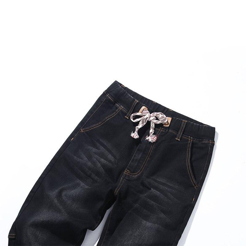 Image 5 - 2018 סתיו חדש של גברים בתוספת גודל ג ינס אופנה מזדמן היפ הופ רופף שחור כחול מכנסיים הרמון מכנסיים 5XL 6XL 7XL-בגינס מתוך ביגוד לגברים באתר