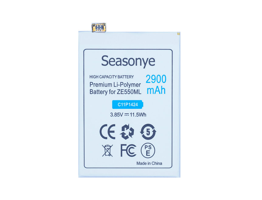 Seasonye 2900mAh / 11.5Wh C11P1424 Replacement Battery For ASUS Zenfone2 Zenfone 2 ZE550 ML Z008D ZE550ML ZE551ML Z00AD Z00ADB